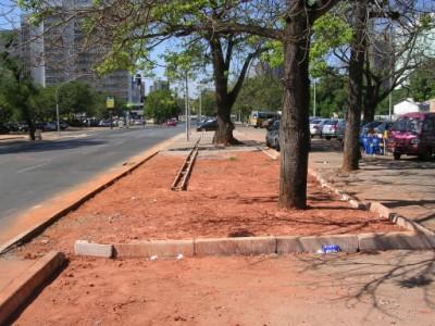 revitalização de calçada no SCS - Brasília