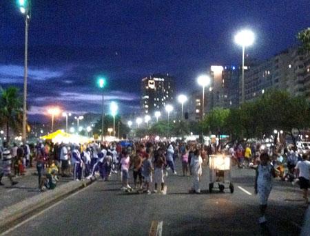 Avenida Atlântica - Copacabana - Carnaval